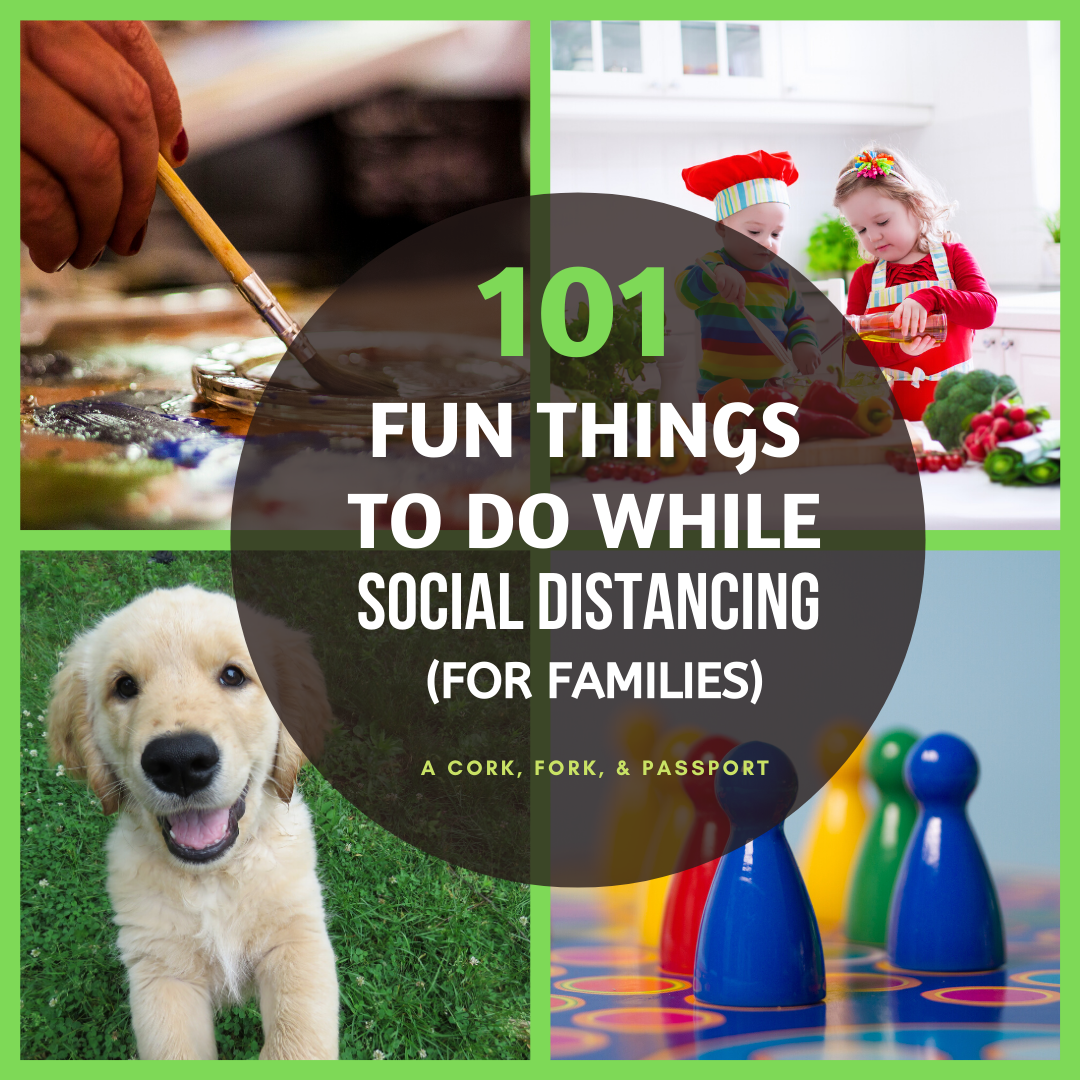 101 Fun Things To Do While Social Distancing (For Families)