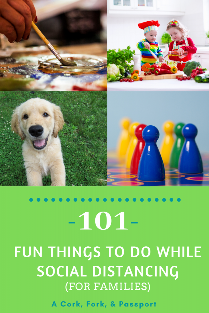 101 Fun Things to do while social distancing4