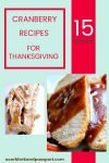 15 Cranberry Recipes for Thanksgiving1