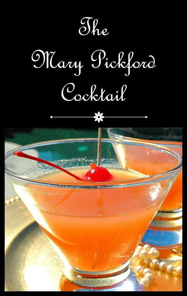 The Mary Pickford Cocktail 1