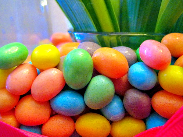 Tulips in Jelly Beans Easter Centerpiece 3