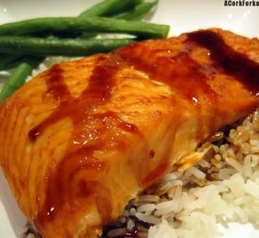 Zesty Asian Salmon