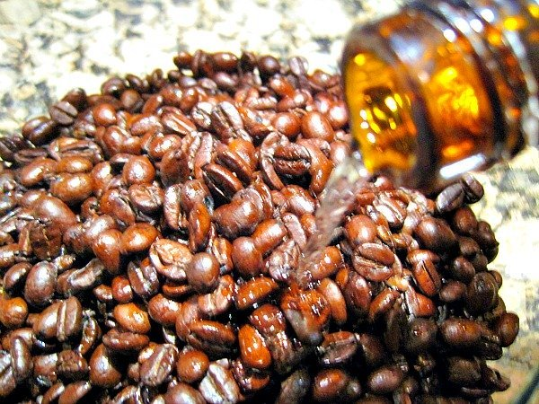 DIY Orange Liqueur Soaked Cinnamon Coffee Beans 3