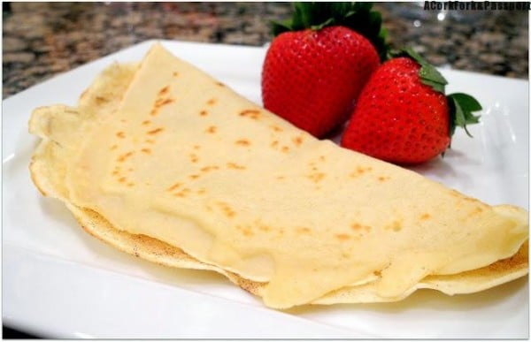 Cinnamon Sugar Crepes