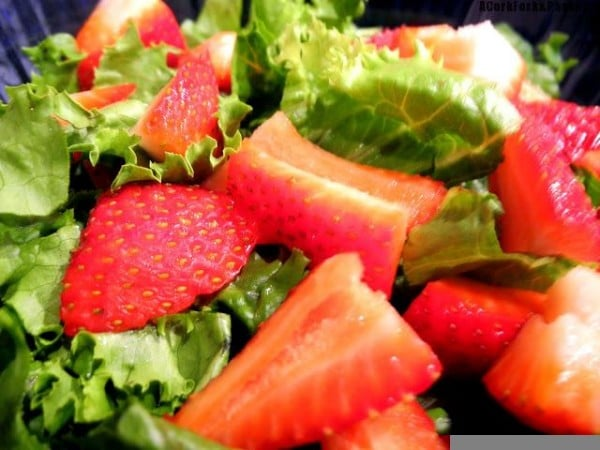 Strawberry & Corn Summer Salad