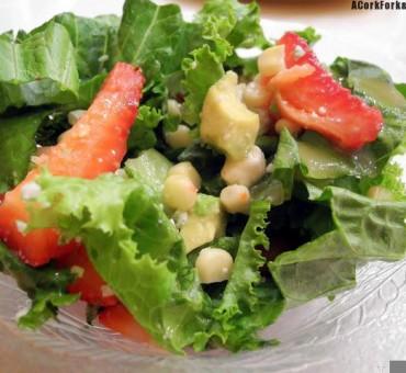Strawberry & Corn Summer Salad