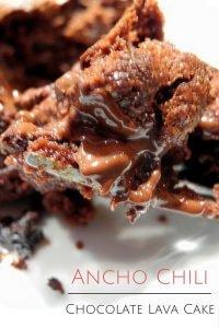 Ancho Chili Chocolate Lava Cake