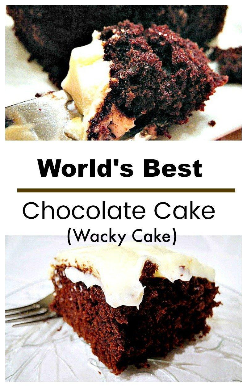 Best Depression Cake Recipe