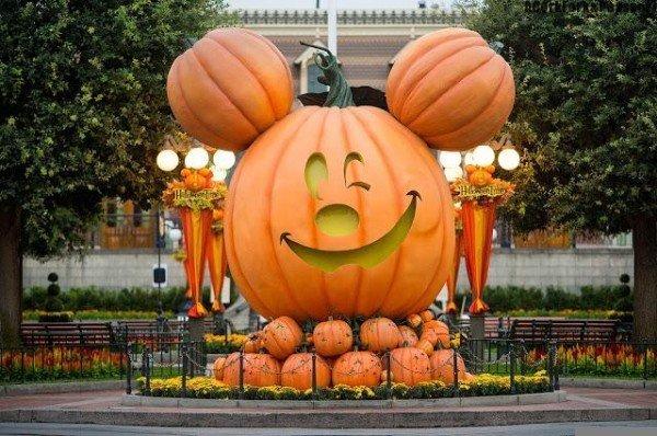 Disneyland at Halloween