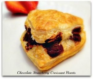 Chocolate Strawberry Croissant Hearts2