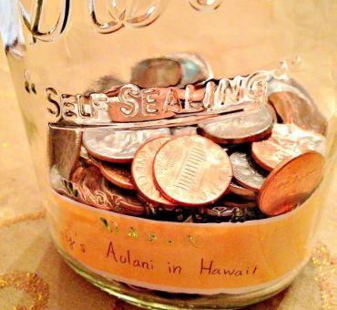 Family Travel Wish List Jars