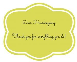 Thank You Notes for Hotel Housekeeping4