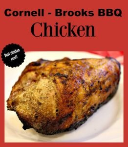 Cornell Brooks BBQ Chicken