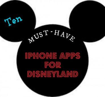 Ten iPhone Apps For Disneyland