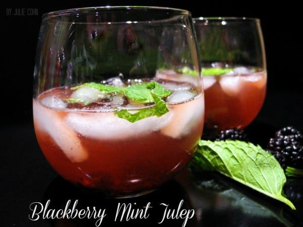 Blackberry Mint Julep 1
