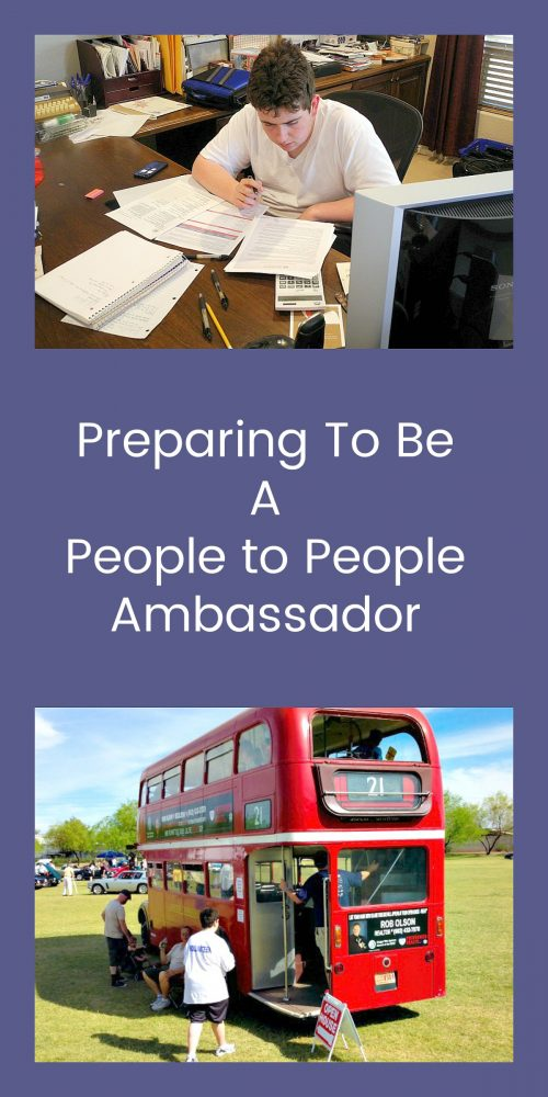 Preparing To Be A People to People Ambassador4