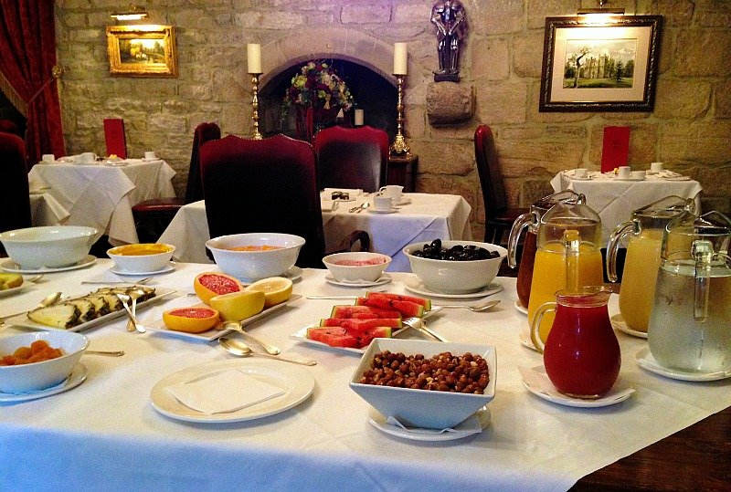 Langley Castle Dining79