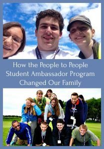 People to People Student Ambassador Changed Family1