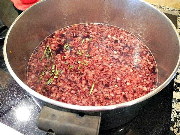 Port Wine Reduction 5