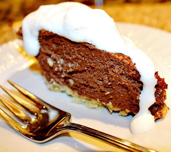 Mile High Chocolate Cream Pie – A Cork, Fork, & Passport ®