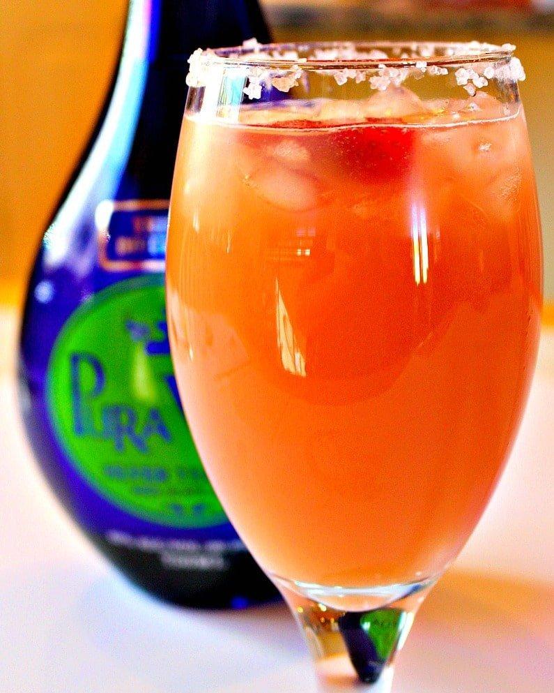 Strawberry Paloma Cocktail 7