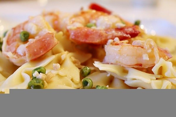 Shrimp Scampi with Peas 11