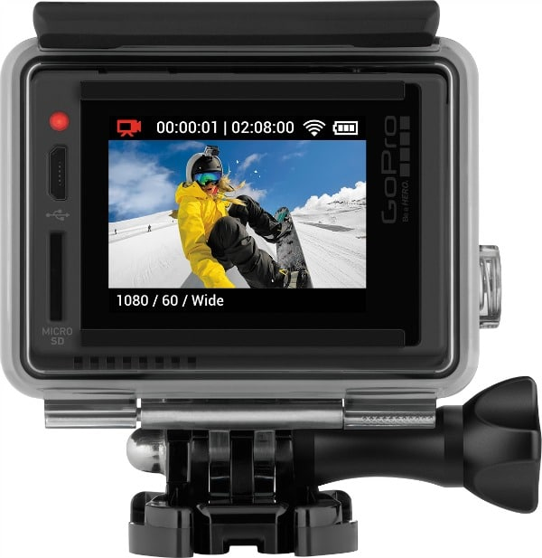 New GoPro Hero + LCD
