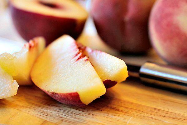 Thirty Minute Blueberry Peach Cobbler 2