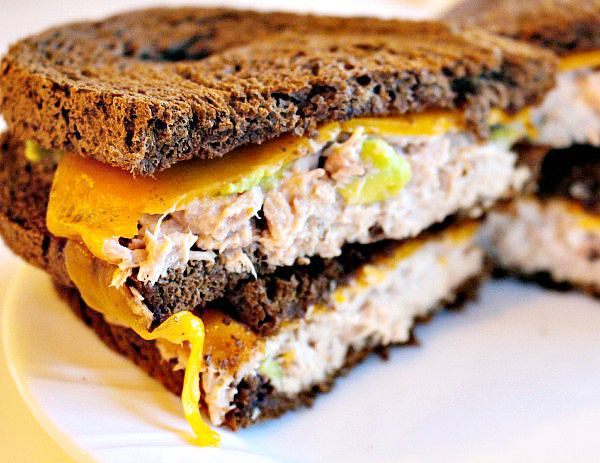 Toaster Oven Tuna Avocado Melt 5