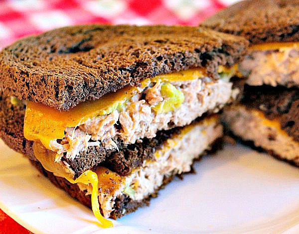 Toaster Oven Tuna Avocado Melt 6