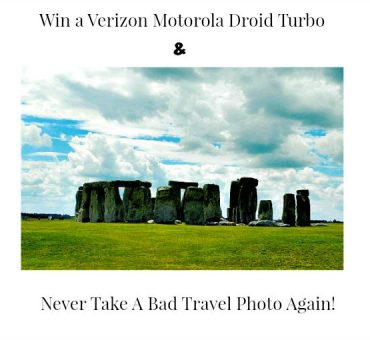 Win A Verizon Motorola Droid Turbo & Never Take A Bad Cell Phone Travel Photo Again