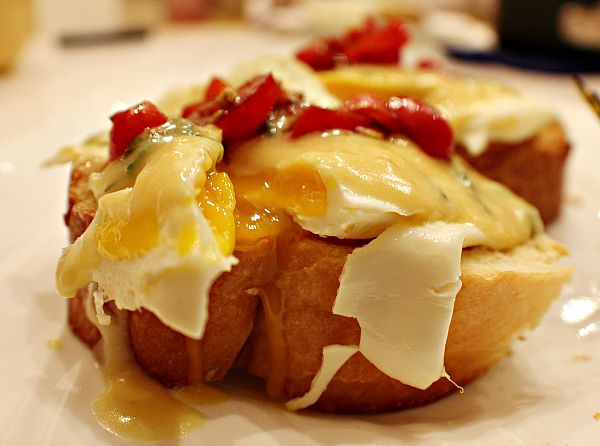 Bruschetta Eggs Benedict 7