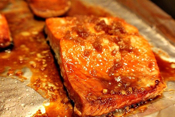 Honey Garlic Sockeye Salmon 2
