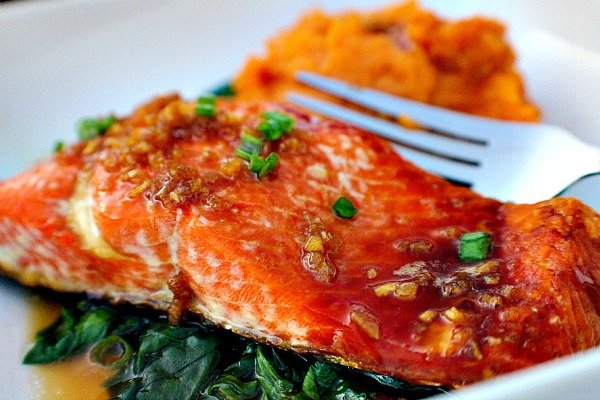 Honey Garlic Sockeye Salmon 3