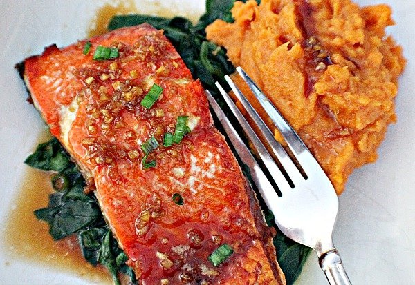 Honey Garlic Sockeye Salmon