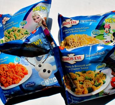 New Birds Eye Disney Pasta by Steamfresh & A Giveaway