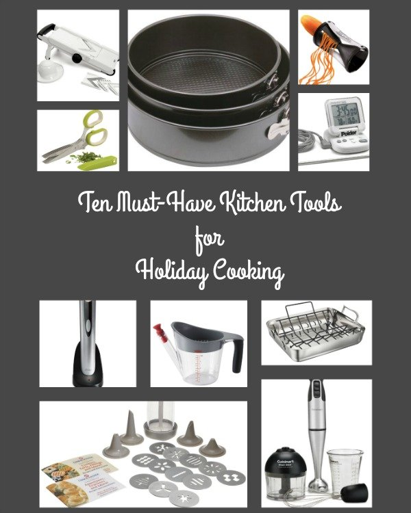 10 Must Have Makeup Palettes For 2017: Ten Must-Have Kitchen Tools For Holiday Cooking