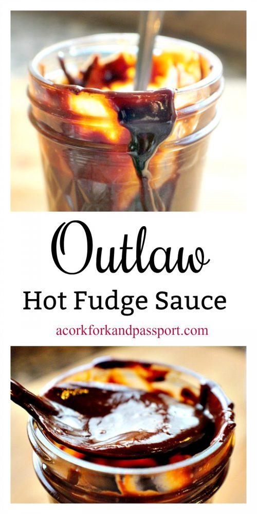 Outlaw Hot Fudge Sauce - Hot fudge sauce so good, it's criminal.