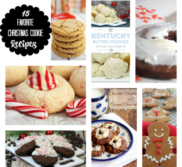 Fifteen Favorite Christmas Cookie Recipes