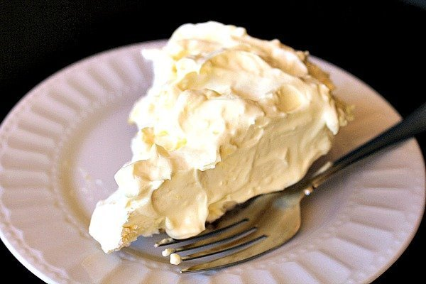 Ginger Snap Coconut Cream Pie 1