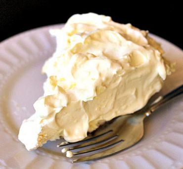 Ginger Snap Coconut Cream Pie