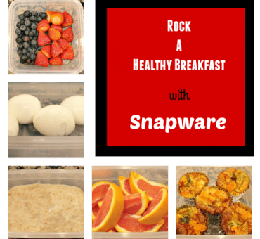 Rock A Healthy Breakfast with Snapware + A Giveaway