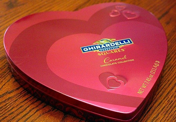 Ghirardelli Chocolate Valentines