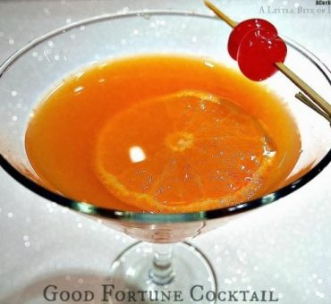 Good Fortune Cocktail for The Chinese New Year