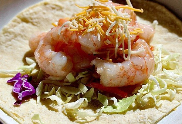 Honey Lime Shrimp Tacos 1