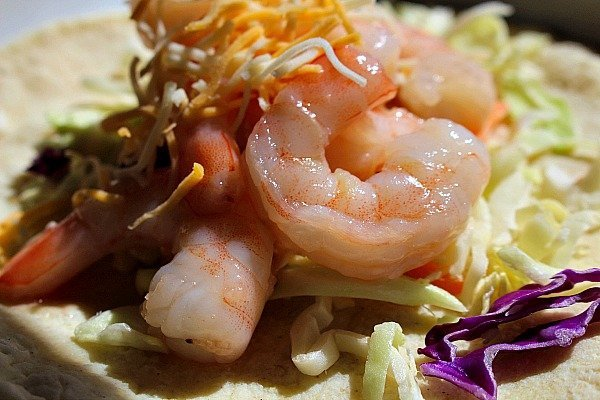 Honey Lime Shrimp Tacos 2