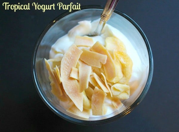 Tropical Yogurt Parfait