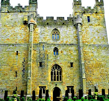 A Night at Langley Castle in Northern England
