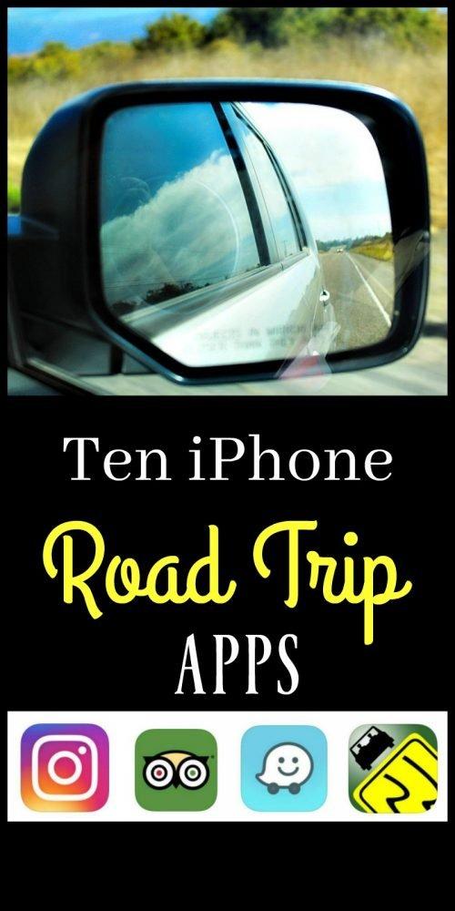 Ten iphone Road Trip Apps