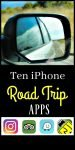 Ten iphone Road Trip Apps